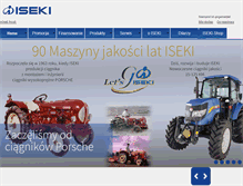 Tablet Preview of iseki.pl